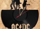 AC-DC Wall Clock Vinyl Record Clock
