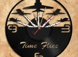 Acro Plane Team Wall Clock Vinyl Record Clock Free Shipping