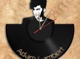 Adam Lambert Wall Clock Vinyl Record Clock home decoration