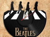 Beatles Wall Clock Vinyl Record Clock Free Shipping