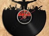 DJ Dee Jay Vinyl Record Clock