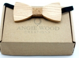 Engraved Kids Bowtie,Cork Bow Ties,Kid Ties