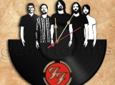 Foo Fighters Wall Clock Vinyl Record Clock