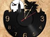Godzilla Vinyl Record Clock