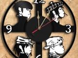 Gorillaz Vinyl Record Clock Wall Clock