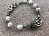 Handcrafted Swarovski Pearl Bracelet