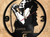 Janis Joplin Vinyl Record Clock home decoration