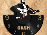 Johnny Cash Wall Clock Vinyl Record Clock Free Shipping