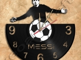 Messi Wall Clock Theme Record Clock