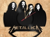 Metallica Wall Clock Vinyl Record Clock Free Shipping