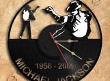 Michael Jackson Vinyl Record Clock