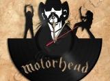 Motorhead Lemmy Wall Clock Vinyl Record Clock Handmade