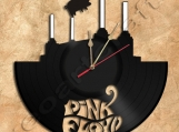 Pink Floyd Animals Theme Vinyl Record Clock Free Shipping.