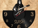 Slash Wall Clock Vinyl Record Clock Guns and Roses home decorati