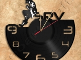 Stevie Ray Wall Clock Vinyl Record Clock Free Shipping