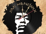 Wall Clock Jimi Hendrix Vinyl Record Clock Free Shipping