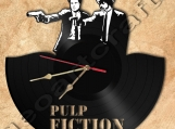Wall Clock Pulp Fiction Theme Vinyl Record Clock Free Shipping