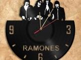 Wall Clock Ramones Vinyl Record Clock Free Shipping