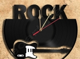 Wall Clock Rock Vinyl Record Clock Free Shipping