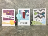 3 Kid's Polaroid Scrapbooking Embellishments
