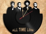 All Time Low Band Wall Clock Vinyl Record Clock