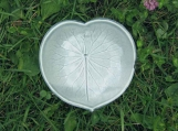 Blue Green Lily Pad dish or spoon rest