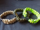 Cobra Weave Paracord Bracelet, 550lb, 45 Different Colors