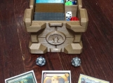 Customizeable 'Companion Crate' Durable Deck & Dice Box
