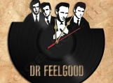 Dr.Feelgood Wall Clock Vinyl Record Clock Free Shipping.