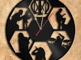 Dream Theater Clock Vinyl Record Clock