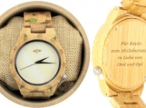 Engraved Bamboo Women's Watch (W024)
