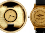 Engraved Bamboo Women's Watch (W048)