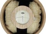 Engraved Bamboo Women's Watch (W102)
