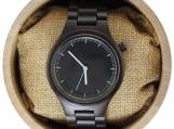 Engraved Dark Sandalwood Women's Watch  (W006)