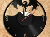 Hobbit Dragon Wall Clock Vinyl Record Clock