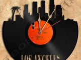 Los Angeles Wall Clock Vinyl Record Clock Free Shipping.