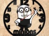 Minions Wall Clock Vinyl Record Clock Free Shipping