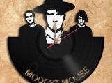 Modest Mouse Wall Clock Vinyl Record Clock