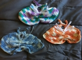 Multi-colored Butterfly Washcloths (includes a free gift)