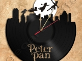 Peter Pan Wall Clock Vinyl Record Clock