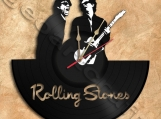 Rolling Stones Wall Clock Vinyl Record Clock Free Shipping.