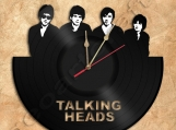 Talking Heads Wall Clock Vinyl Record Clock