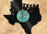 Texas Wall Clock Vinyl Record Clock Free Shipping.