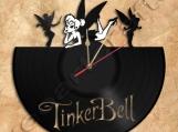 Tinkerbell Wall Clock Vinyl Record Clock Free Shipping