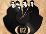 U2 Band Wall Clock Vinyl Record Clock Free Shipping.
