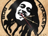 Wall Clock Bob Marley Vinyl Record Clock