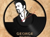 Wall Clock George Michael Vinyl Record Clock