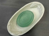 White Victorian Soap Dish