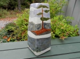 XL Urn Spring Thaw with White Pine
