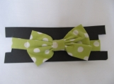 Boys Green Polka Dot Bowtie